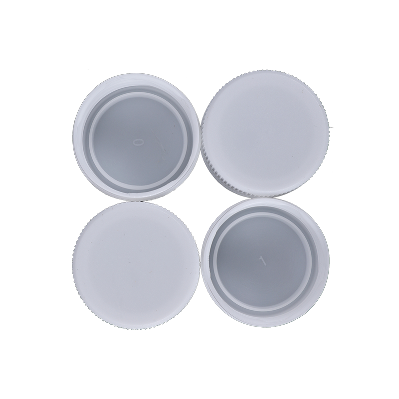 30 Flat Head Plastic Bottle Screw Cap